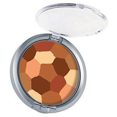 Physicians Formula | Powder Palette Multi-Colored Face Powder, Bronzer - Product front facing top view with lid open on a white background
