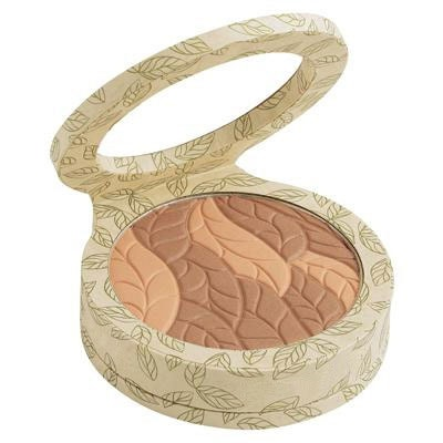 Physicians Formula   Gentle Wear Natural Origin Bronzer - Product at 45 degree anlge with lid open on a white background