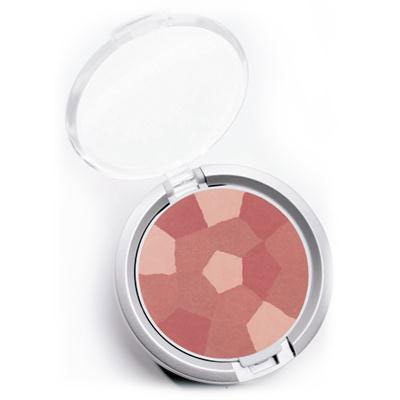 Physicians Formula | Powder Palette Multi-Colored Blush, Blushing Rose - Product slight angle top view with lid open on a white background