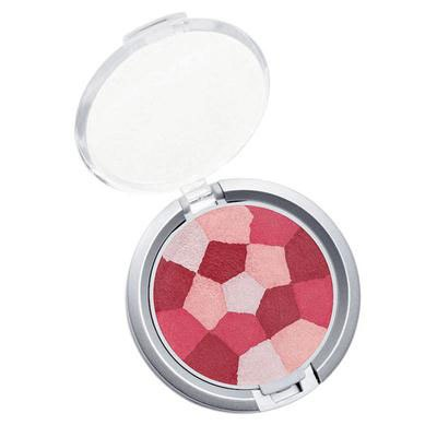 Physicians Formula | Powder Palette Multi-Colored Blush, Blushing Berry - Product slight angle top view with lid open on a white background