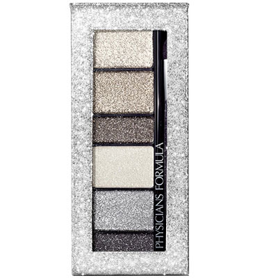Physicians Formula | Shimmer Strips Custom Eye Enhancing Extreme Shimmer Shadow & Liner, Smoky - Product front facing top view on a white background