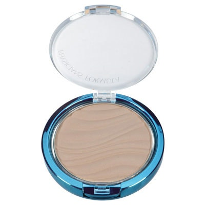 Physicians Formula | Mineral Wear Talc-Free Mineral Airbrushing Pressed Powder SPF 30, Beige - Product front facing top view with lid open on a white background