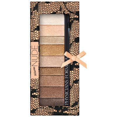 Physicians Formula | Shimmer Strips Custom Eye Enhancing Shadow & Liner Nude Collection - Product front facing top view on a white background