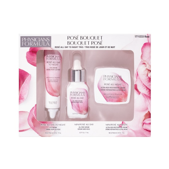 Physicians Formula | Rose Bouquet Skin Kit - Product front facing top view on a white background