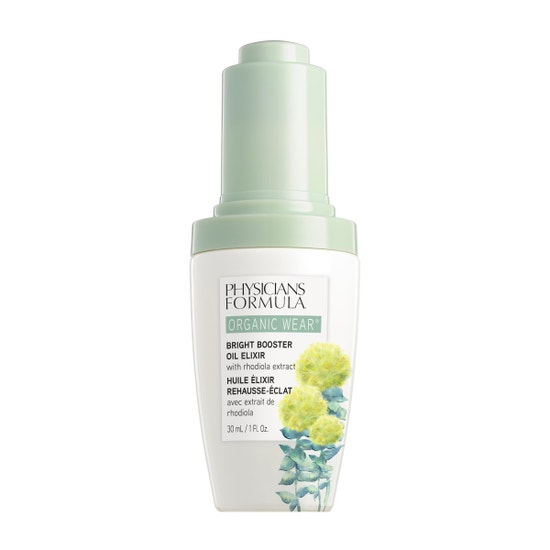 Physicians Formula | Organic Wear Bright Booster Oil Elixir - Product front facing on a white background