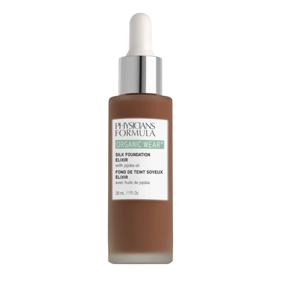 Physicians Formula | Organic Wear Silk Foundation Elixir- Rich - Product front facing on a white background