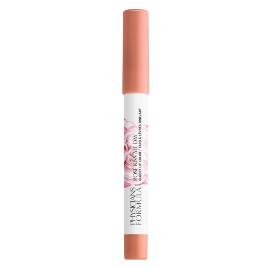 Rosé Kiss All Day Glossy Lip Color- Sweet Nothings   Physicians Formula - Product front facing cap fastened, with no background