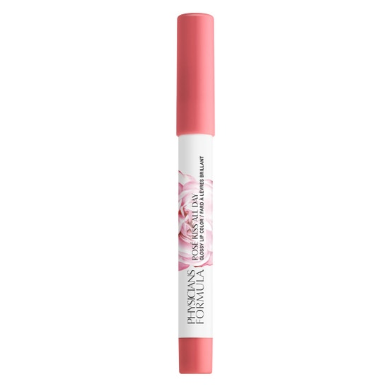 Rosé Kiss All Day Glossy Lip Color- Love Letters | Physicians Formula - Product front facing cap fastened, with no background