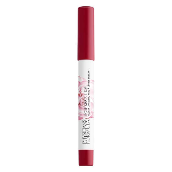 Rosé Kiss All Day Glossy Lip Color- Xoxo   Physicians Formula - Product front facing cap fastened, with no background