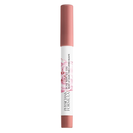 Rosé Kiss All Day Velvet Lip Color- Pillow Talk | Physicians Formula - Product front facing cap fastened, with no background