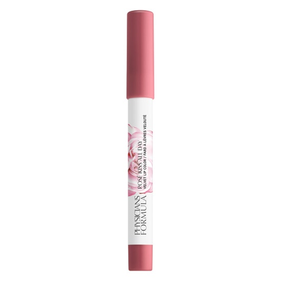 Rosé Kiss All Day Velvet Lip Color- First Kiss | Physicians Formula - Product front facing cap fastened, with no background