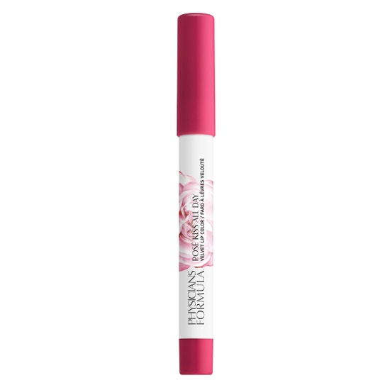 Rosé Kiss All Day Velvet Lip Color- Call Me, Baby | Physicians Formula - Product front facing cap fastened, with no background