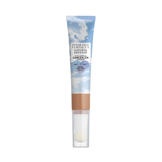 Physicians Formula | Natural Defense Total Coverage Concealer SPF 30- Medium/ Deep - Product front facing on a white background