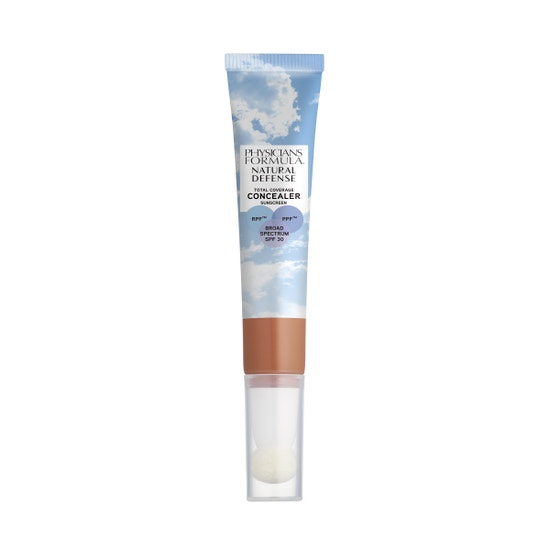 Physicians Formula | Natural Defense Total Coverage Concealer SPF 30- Deep - Product front facing on a white background