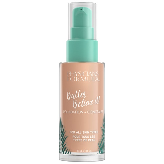 Butter Believe It! Foundation + Concealer - Light | Physicians Formula | Product front facing cap fastenend, with no background