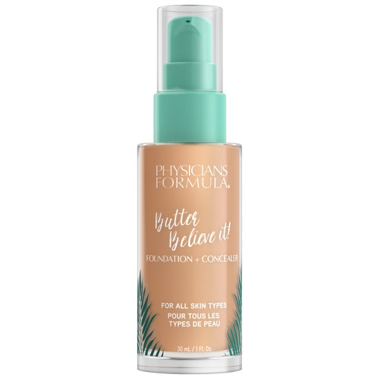 Butter Believe It! Foundation + Concealer - Medium | Physicians Formula | Product front facing cap fastenend, with no background