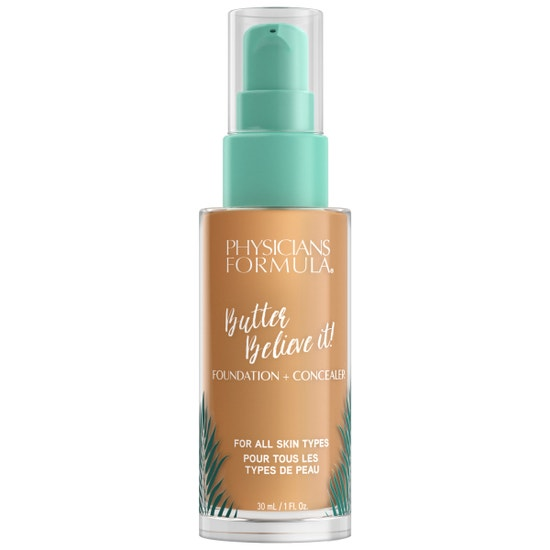 Butter Believe It! Foundation + Concealer -  Tan | Physicians Formula | Product front facing cap fastenend, with no background