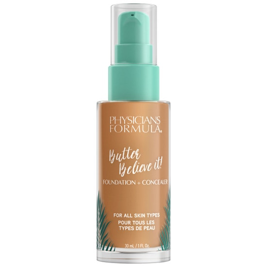 Butter Believe It! Foundation + Concealer -  Tan-to-Deep | Physicians Formula |  Product front facing cap fastenend, with no background