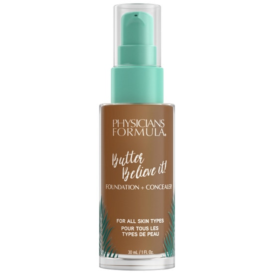 Butter Believe It! Foundation + Concealer -  Deep Warm | Physicians Formula | Product front facing cap fastenend, with no background