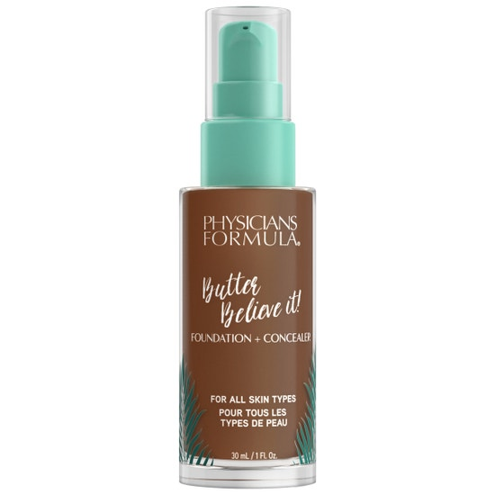 Butter Believe It! Foundation + Concealer - Deep-to-Rich | Physicians Formula | Product front facing cap fastened, with no background