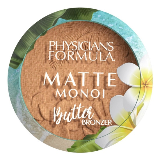 Matte Monoi Butter Bronzer   Physicians Formula   Product front facing lid closed, with no background