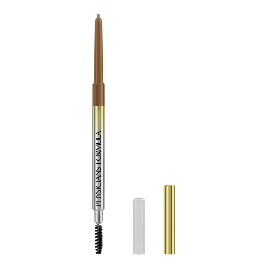 Slim Brow Pencil  | Physicians Formula - Taupe | Product front facing cap removed, with no background