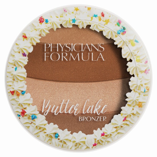 Butter Cake Bronzer - Chocolate | Physicians Formula | Product front facing lid closed with no background.