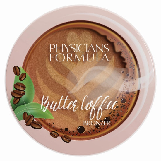 Butter Coffee Bronzer - Latte | Physicians Formula | Product front facing lid closed, with no background.