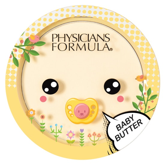 Baby Butter Banana Powder   Physicians Formula   Product front facing lid closed, with no background