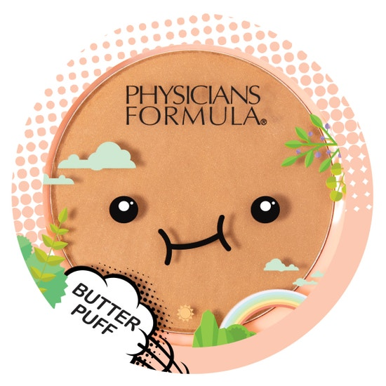 Butter Puff Bronzer | Physicians Formula | Product front facing lid closed, with no background