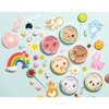 Butter Buddies Full Collection    Physicians Formula   Product scattered,  candy scattered with blue background