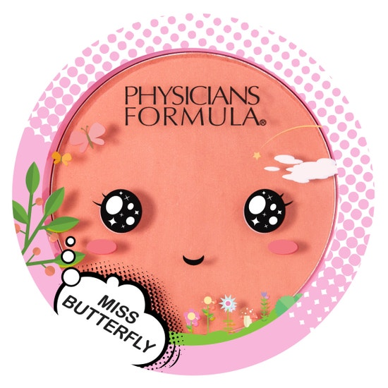 Miss Butterfly Blush   Physicians Formula   Product front facing lid closed, with no background