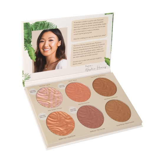 Physicians Formula | Butter Collection X Weylie Hoang - Product front facing slight angle top view with lid open on a white background