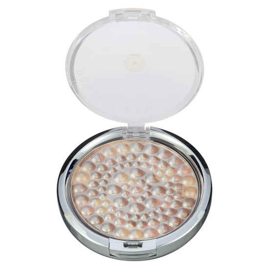 Physicians Formula | Powder Palette Mineral Glow Pearls - Bronze - Product front facing top view with lid open on a white background