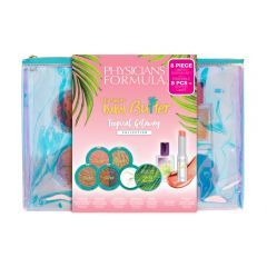 Physicians Formula | Murumuru Baby Butter Tropical Getaway Collection - Product front facing top view in retail sleeve box on a white background