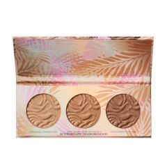 Physicians Formula | Murumuru Butter Bronzer Palette - Product front facing top view with lip open on a white background