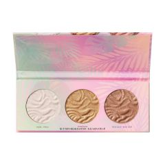 Physicians Formula | Murumuru Butter Highlighter Palette - Product front facing top view with lip open on a white background