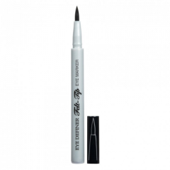 Physicians Formula | Eye Definer Felt Tip Eye Marker - Ultra Black,  - Product front facing with cap off on a white background