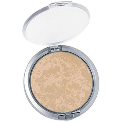 Physicians Formula | Mineral Wear Talc Free Mineral Pressed Face Powder SPF 16 - Creamy Natural - Product front facing top view with lid open on a white background