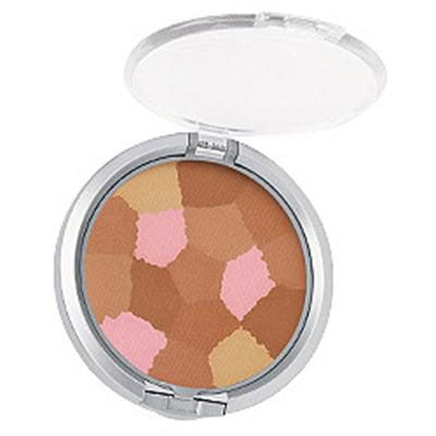 Physicians Formula | Powder Palette Multi-Colored Face Powder, Healthy Glow Bronzer - Product front facing top view with lid open on a white background