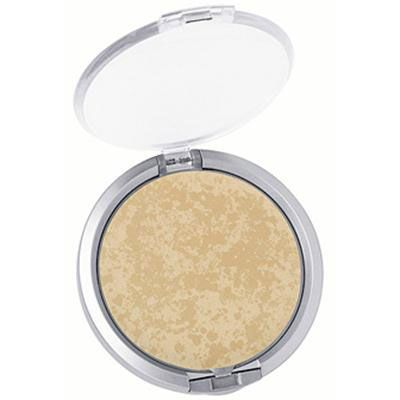 Physicians Formula | Mineral Wear Talc-Free Mineral Face Powder SPF 16, Buff Beige - Product front facing top view with lid open on a white background
