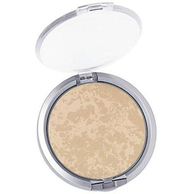 Physicians Formula | Mineral Wear Talc-Free Mineral Face Powder SPF 16, Translucent - Product front facing top view with lid open on a white background