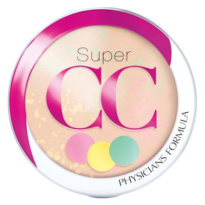 Physicians Formula | Super CC Color-Correction + Care CC Powder SPF 30 - Product front facing top view on a white background