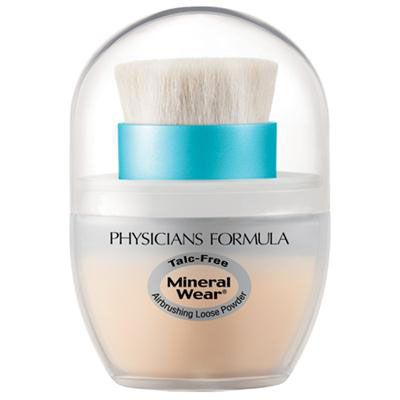 Physicians Formula | Mineral Wear Talc-Free Mineral Airbrushing Loose Powder SPF 30 - Product front facing on a white background