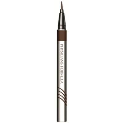 Physicians Formula | Eye Booster 2-in-1 Lash Boosting Eyeliner & Serum, Deep Brown - Product front facing on a white background