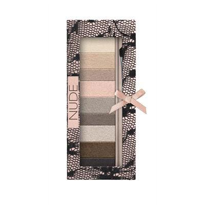 Physicians Formula | Shimmer Strips Custom Eye Enhancing Shadow & Liner, Universal Looks, Nude Eyes - Product front facing top view on a white background