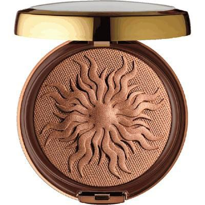 Physicians Formula   Bronze Booster Glow-Boosting Airbrushing Bronzing Veil Deluxe Edition - Product front facing top view with lid open on a white background