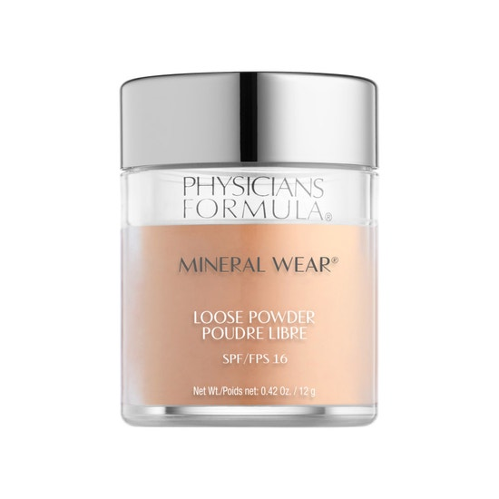 Physicians Formula | Mineral Wear Loose Powder SPF 16-Medium Beige - Product front facing on a white background