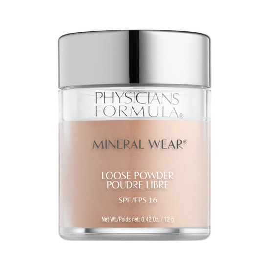 Physicians Formula   Mineral Wear Loose Powder SPF 16-Sand Beige - Product front facing on a white background
