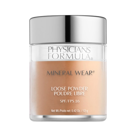 Physicians Formula | Mineral Wear Loose Powder SPF 16-Golden Caramel - Product front facing on a white background